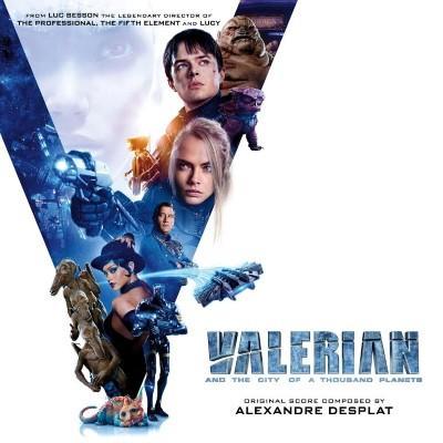 Valerian Et La Cite Des Mille Planetes (OST by Alexandre Desplat) (2CD)