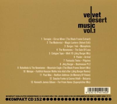 Velvet Desert Music Vol. 1