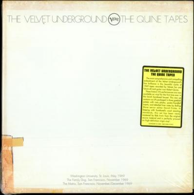 Velvet Underground - Quine Tapes (LP) (cover)