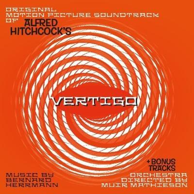 Vertigo (OST by Bernard Herrmann) (Solid Orange Vinyl) (LP)