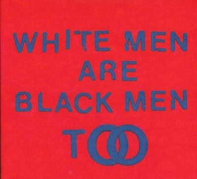 Young Fathers - White Men Are Black Men Too (LP) (cover)