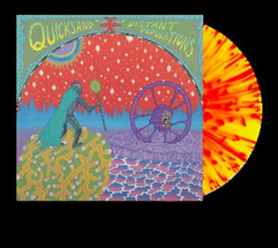 Quicksand - Distant Populations (LP) (Red & Yellow Splatter Vinyl)