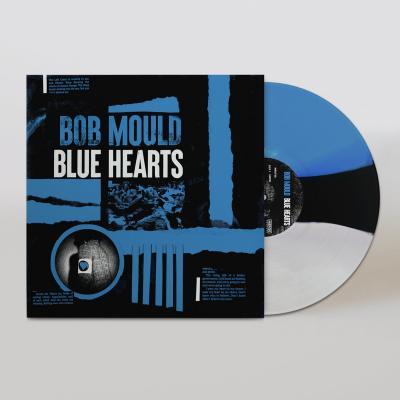 Mould, Bob - Blue Hearts (Black/White/Blue Vinyl) (LP)