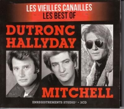 Dutronc, Jacques / Hallyday, Johnny / Mitchell Eddy - Les Vieilles Canailles Best Of (3CD)