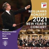 Wiener Philharmoniker - Neujahrskonzert 2021 / New Year (Riccardo Muti) (2CD)