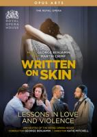 Various Artists - Written On Skin Lessons In Love And (2DVD)