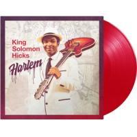 Hicks, King Solomon - Harlem (Red Transparent Vinyl) (LP)