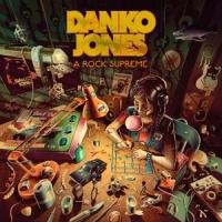 Danko Jones - A Rock Supreme NEON ORANGE VINYL