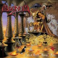 Magnum - Sacred Blood  Divine Lies (Yellow With Red Swirls Vinyl) (LP)