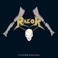 Razor - Custom Killing (Transparent Royal Vinyl) (LP)