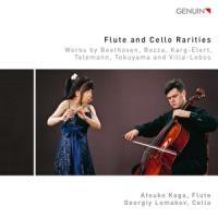Koga, Atsuko/Georgiy Lomakov - Flute And Cello Rarities