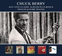 Berry, Chuck - Five Classic Albums (Plus Bonus Singles & Rare Tracks) (4CD)