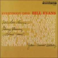 Evans, Bill -trio- - Everybody Digs Bill Evans (cover)