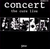 Cure - Concert: Live (cover)