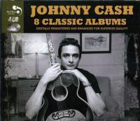 Cash, Johnny - 8 Classic Albums (cover)