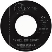 "Jones, Durand & The Indications - Don't You Know / True Love (Orange Vinyl) (7"")"