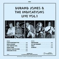 Jones, Durand & The Indications - Live Vol. 1 (Blue Vinyl) (LP)