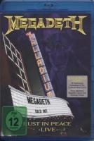 Megadeth - Rust In Peace Live - Bluray (cover)