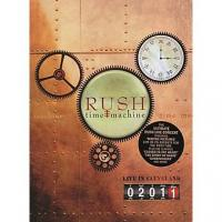 Rush - Time Machine 2011 Live (DVD) (cover)