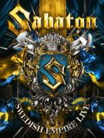 Sabaton - Swedish Empire Live (2DVD) (cover)