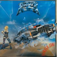 Sinner - Danger Zone (White & Blue Vinyl) (LP)