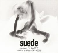 Suede - European Tour Live 2013 (cover)