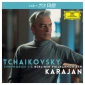 Tchaikovsky, P.I. - Symphonies (Berliner Philh./Herbert Von Karajan / 4Cd+1Br-Audio) (4CD+BLURAY)