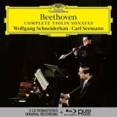 Schneiderhan, Wolfgang/Carl Seemann - Beethoven: Complete Violin Sonatas (CD+BLURAY)