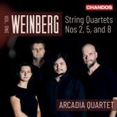 Arcadia Quartet - Weinberg String Quartets Vol.1