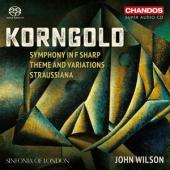 Sinfonia Of London John Wilson - Korngold Symphony In F Sharp / Them (SACD)