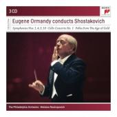 Ormandy, Eugene - Conducts Shostakovich (3CD)