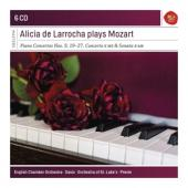 Larrocha, Alicia De - Plays Mozart (6CD)