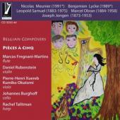 Talitman/Fregnani-Martins - Belgian Composers (Pieces A Cinq)