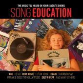 V/A - Song Education (Insert/Music As Heard On Fav. Tv Shows/Solid Red Vinyl) (LP)