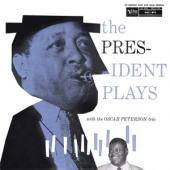 Peterson, Oscar -Trio- - President Plays With Oscarpeterson Trio LP