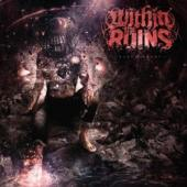 Within The Ruins - Black Heart (Opaque Apple Red & Opaque Silver Vinyl) (LP)