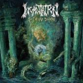 Incantation - Sect Of Vile Divinities (Green And Mustard Galaxy Merge Vinyl) (LP)