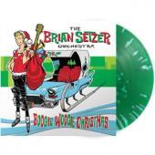Setzer, Brian -Orchestra- - Boogie Woogie Christmas (Green Splatter Vinyl) (LP)