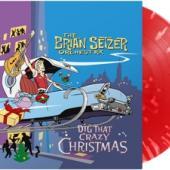 Setzer, Brian -Orchestra- - Dig That Crazy Christmas (Red Splatter Vinyl) (LP)