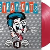 Stray Cats - 40 (Red Transparant Vinyl) (LP)