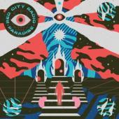 Red City Radio - Paradise (Half Baby Pink/Half Neon Pink W/ Heavy Black Splatter) (LP)