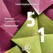 London Symphony Orchestra Gianandre - Shostakovich Symphonies Nos. 5 & 1 (2SACD)