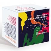 Berliner Philharmoniker - New Year'S Eve Concerts (20BLURAY)