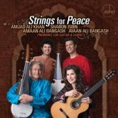 Isbin, Sharon & Amjad Ali Khan - Strings For Peace: Premieres For Guitar & Sarod