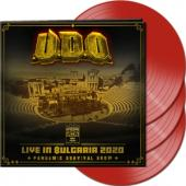U.D.O. - Live In Bulgaria 2020 (Red Vinyl) (3LP)