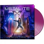 Metalite - A Virtual World (Clear Purple Vinyl) (LP)