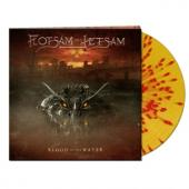 Flotsam And Jetsam - Blood In The Water (Clear Yellow/Red Splatter Vinyl) (LP)