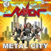 Raven - Metal City (Purple Vinyl) (LP)