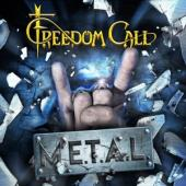 Freedom Call - M.E.T.A.L. (Blue With Black Swirls Vinyl) (2LP+CD)