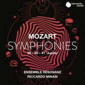 Riccardo Minasi Ensemble Resonanz - Mozart Symphonies Nos. 39 40 & 41 J (2CD)